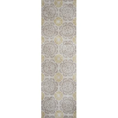 Mcintosh Suzani Green Area Rug Rug Size: Runner 23 x 76