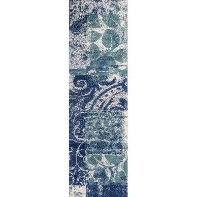 Portia Artisan Blue Area Rug Rug Size: Runner 23 x 76