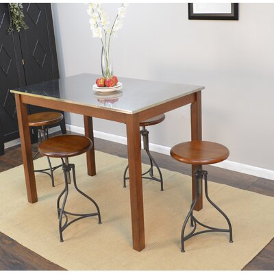 Hawkes Functional Dining Table Finish: Chestnut