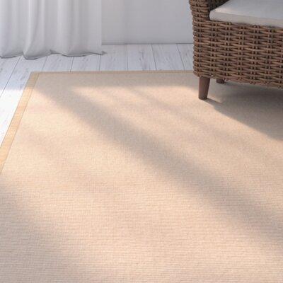 Sumner Hand-Woven Tan/Tan Area Rug