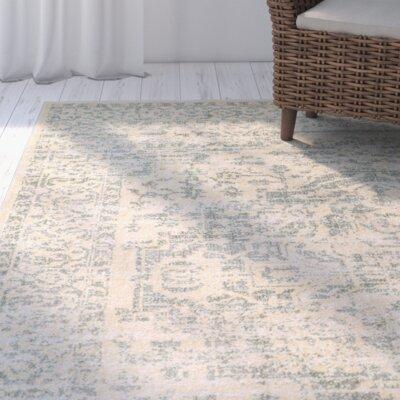 Stellan Green/Beige Area Rug Rug Size: 7'10 x 9'10