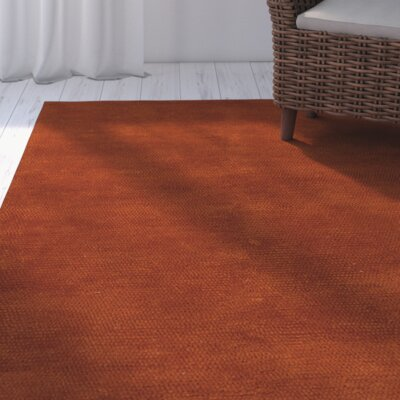 Tully Rust Red Area Rug Rug Size: 2'3