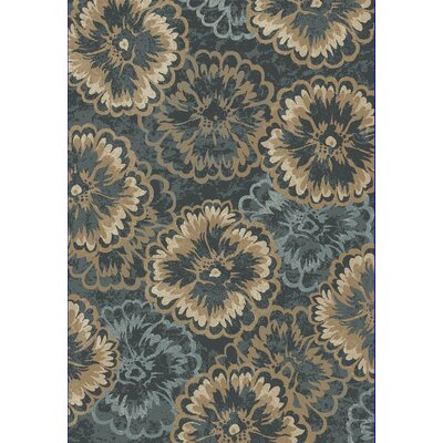 Amy Blue/Beige Area Rug Rug Size: Runner 22 x 710