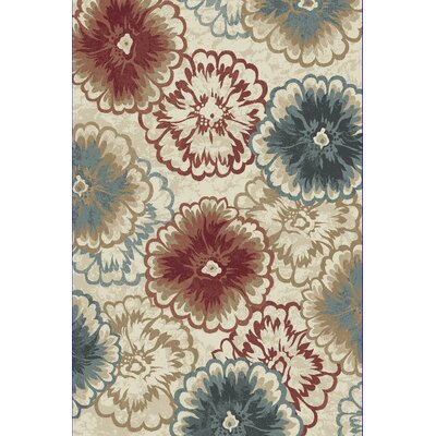 Amy Area Rug Rug Size: Rectangle 53 x 77
