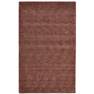 Richardson Hand-Loomed Rust Area Rug Rug Size: Rectangle 2 x 3