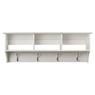 Sybil Entryway Shelf Finish: White