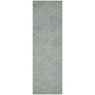 Alldredge Dove Area Rug Rug Size: Runner 26 x 8