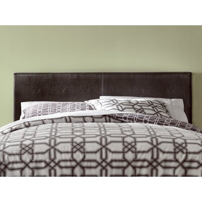 Marjorie Queen Upholstered Panel Bed Finish: Dark Brown