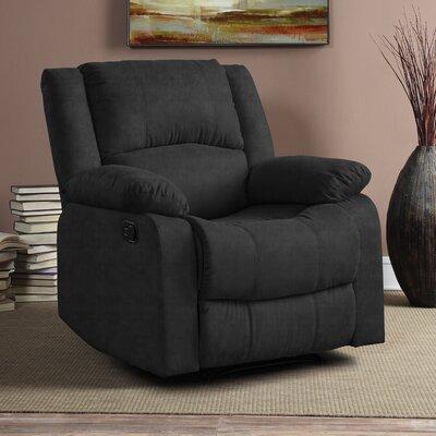 Hildegarde Recliner Upholstery: Charcoal