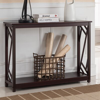 Lavinia Wood Console Table