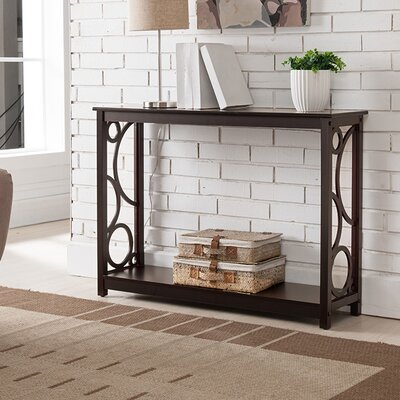 Corrine Wood Console Table