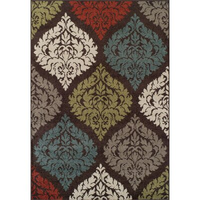 Massey Chocolate Tibetan Area Rug Rug Size: Rectangle 33 x 51