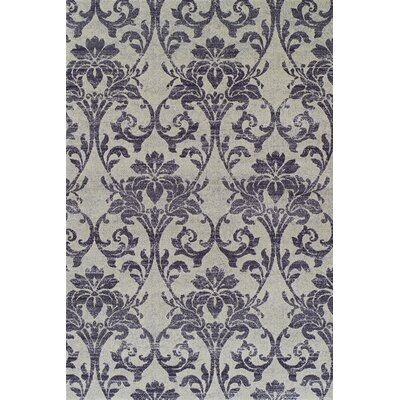 Babylon Cream Ikat Area Rug Rug Size: Rectangle 53 x 77