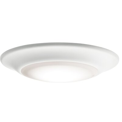 Stansbury 1-Light LED Flush Mount (Set of 12) Size: 1.25 H x 6 W x 6 D