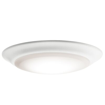 Stansbury 1-Light LED Flush Mount Size: 1.25 H x 7.5 W x 7.5 D