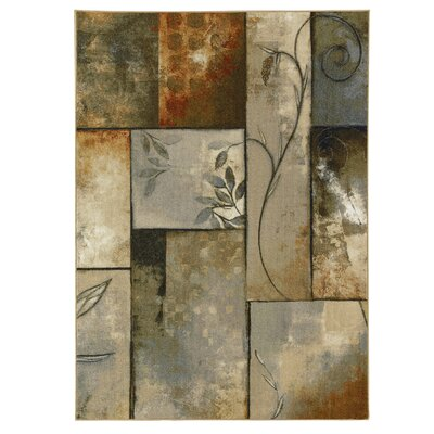 Russellville Gray/Brown Area Rug