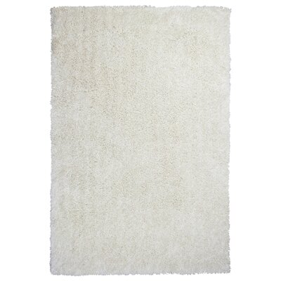 Angela Hand Woven Ivory Area Rug Rug Size: Rectangle 76 x 96