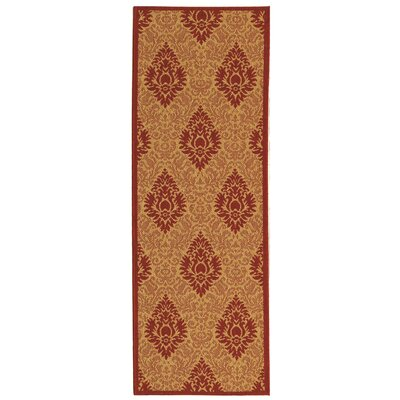 Short Simple Outdoor Rug Rug Size: Runner 24 x 67