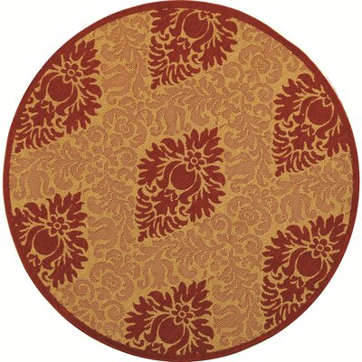 Short Simple Outdoor Rug Rug Size: Round 53