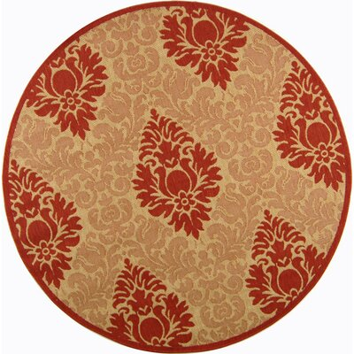 Short Simple Outdoor Rug Rug Size: Round 67
