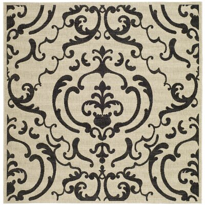 Short Outdoor Area Rug I Rug Size: Square 67