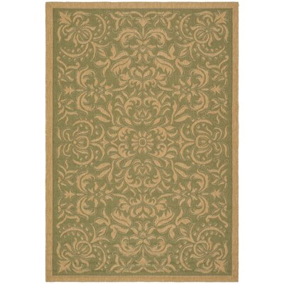 Welby Light Green/Tan Outdoor Rug