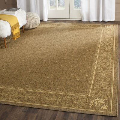 Welby Brown Outdoor Area Rug Rug Size: Square 7'10