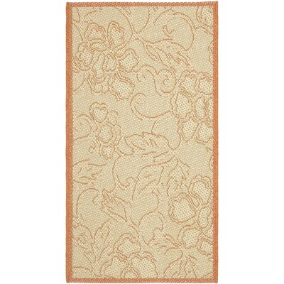 Short All Over Neutral Outdoor Area Rug Rug Size: Rectangle 2 x 37