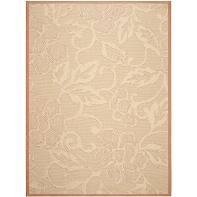 Short All Over Neutral Outdoor Area Rug Rug Size: Rectangle 9' x 12'6