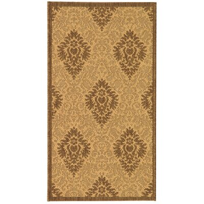 Short Transitional Durable Outdoor Rug Rug Size: Rectangle 53 x 77