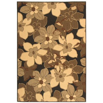 Welby Natural/Brown Rug Rug Size: Runner 27 x 5