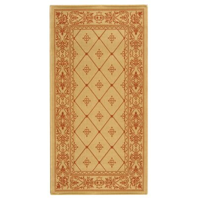 Welby Natural / Terra Outdoor Area Rug Rug Size: Runner 2'7
