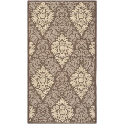 Short Transitional Outdoor Rug Rug Size: Rectangle 53 x 77