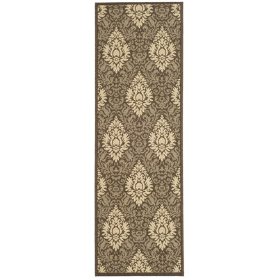 Short Transitional Outdoor Rug Rug Size: Rectangle 27 x 5