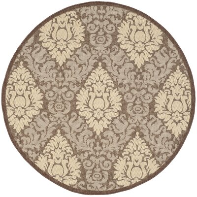 Welby Blossom Outdoor Rug Rug Size: Round 53
