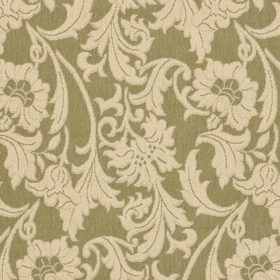 Welby Olive/Creme Outdoor Area Rug Rug Size: Runner 27 x 5