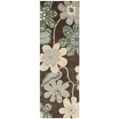 Mccullough Brown Area Rug Rug Size: Runner 23 x 7