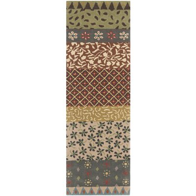 Mccullough Ivory Area Rug Rug Size: Runner 23 x 7