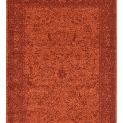 Aledo Rust Red Indoor Area Rug