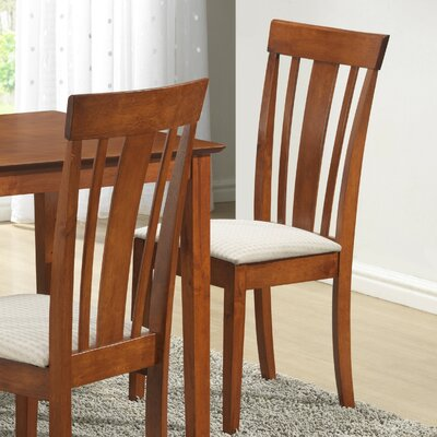 Braylon Side Chair (Set of 2) Finish: Maple