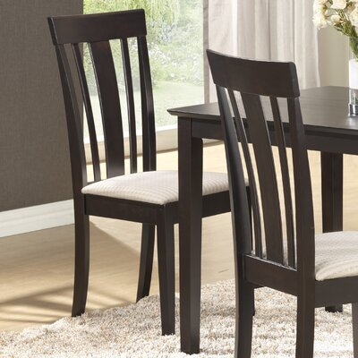 Braylon Side Chair (Set of 2) Finish: Cappuccino