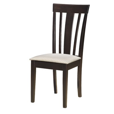 Elsa Side Chair (Set of 2) Finish: Cappuccino