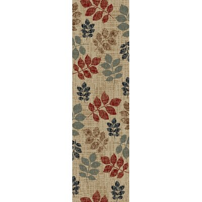Cord Beige Area Rug Rug Size: Runner 2 x 8