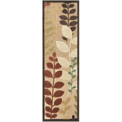 Queen Floral Indoor/Outdoor Area Rug Rug Size: Runner 26 x 710