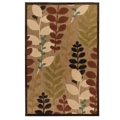 Queen Floral Indoor/Outdoor Area Rug Rug Size: 39 x 58