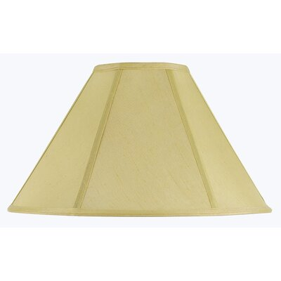 Lisa 19 Fabric Empire Lamp Shade Finish: Champagne