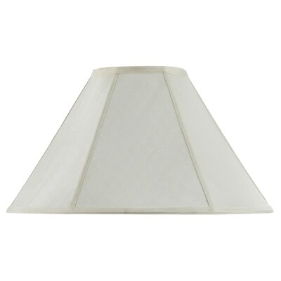 Lisa 19 Fabric Empire Lamp Shade Finish: Eggshell
