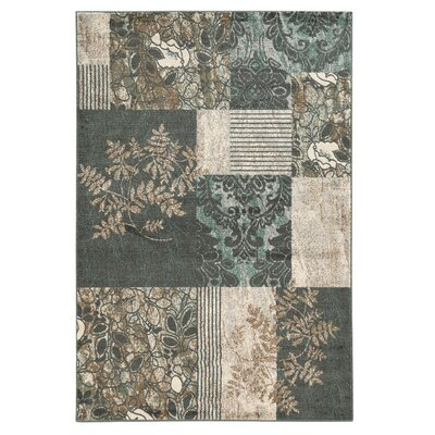 Danica Turquoise Area Rug Rug Size: Rectangle 8 x 10