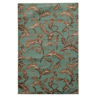 Danica Blue Area Rug Rug Size: Rectangle 5' x 7'