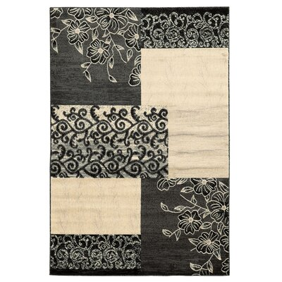Danica Grey Area Rug Rug Size: Rectangle 5 x 7